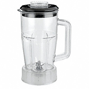 Blender Container with Lid and Blade