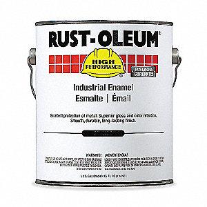 Rust Oleum 7400 Alkyd Enamel High Gloss Black 5 Gal