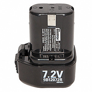 Battery Pack,7.2V,NiCd,1.4A/hr.