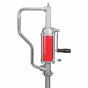 "Hand Drum Pump,Steel/Aluminum,1/2""FNPT"