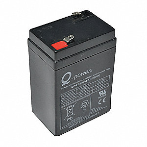 Rechargeable Battery,4 In. L,3 In. W