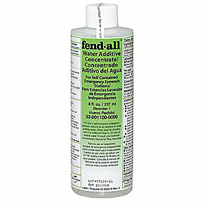 Eye Wash Preservative, For Use With Fendall Eye Wash Stations