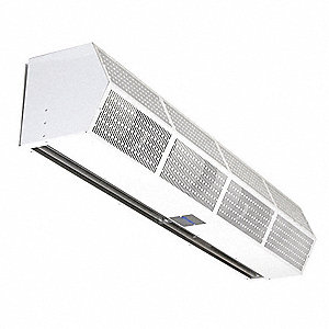 Air Curtain, 1752 cfm, 67 dBA @ 10 Feet, Max. Door Width 3-1/2 ft., Max. Mounting Height 7 ft.