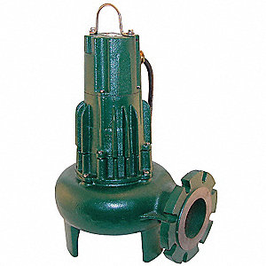 Submersible Sewage Pump,3HP,460V,38 ft.