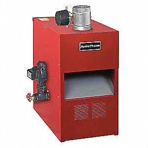 Gas Fired Boiler,NG,32 In. H,27 In. D