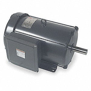 7-1/2 HP General Purpose Motor,Capacitor-Start,1740 Nameplate RPM,Voltage 230,Frame 215T