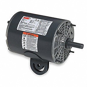 1/2 HP Pedestal Fan Motor, Split-Phase, 1725 Nameplate RPM,115 Voltage, Frame 48YZ