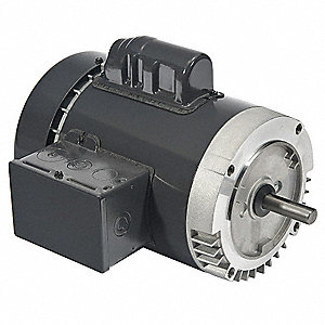 3/4 HP General Purpose Motor,Capacitor-Start,1725 Nameplate RPM,Voltage 115/208-230,Frame 56C