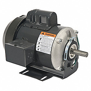 1/2 HP General Purpose Motor,Capacitor-Start,1725 Nameplate RPM,Voltage 115/230,Frame 56