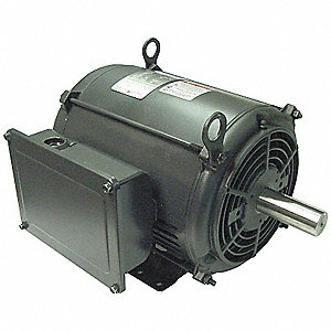 10 HP General Purpose Motor,Capacitor-Start,1740 Nameplate RPM,Voltage 230,Frame 215T