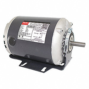 1/3 HP Belt Drive Motor, Split-Phase, 1725 Nameplate RPM, 115 Voltage, Frame 48Y