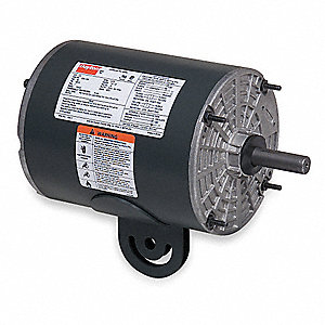 1/3 HP Pedestal Fan Motor, Split-Phase, 1725 Nameplate RPM,115 Voltage, Frame 48YZ
