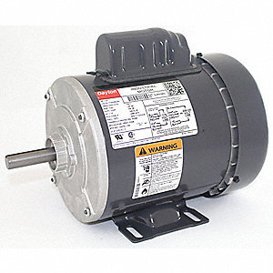 1/2 HP General Purpose Motor,Capacitor-Start,1725 Nameplate RPM,Voltage 115/208-230,Frame 48