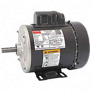 1/2 HP General Purpose Motor,Capacitor-Start,1725 Nameplate RPM,Voltage 115/208-230,Frame 56