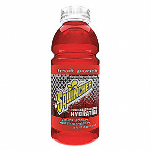 Fruit Punch Ready to Drink Sports Drink, Package Size: 20 oz., Yield: 20 oz., 24 PK