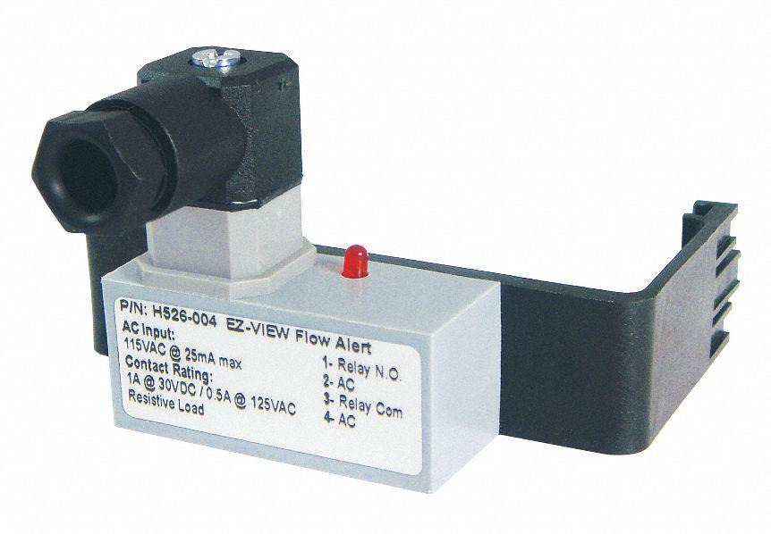 Hedland vac ± ac latching flow switch kvu h