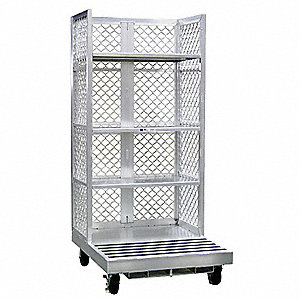 Forklift Order Picking Cart,Al,12 In H