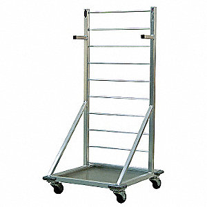 Fry Thaw Cart,27 Basket Capacity