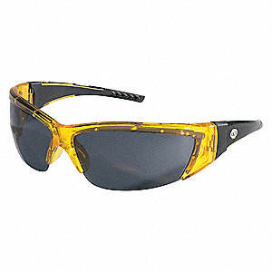 Safety Glasses,Gray,Scratch-Resistant