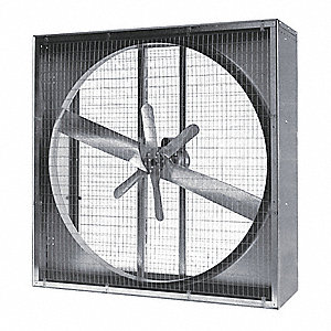 Agricultural Exh Fan,48 In,230/460V,3-Ph