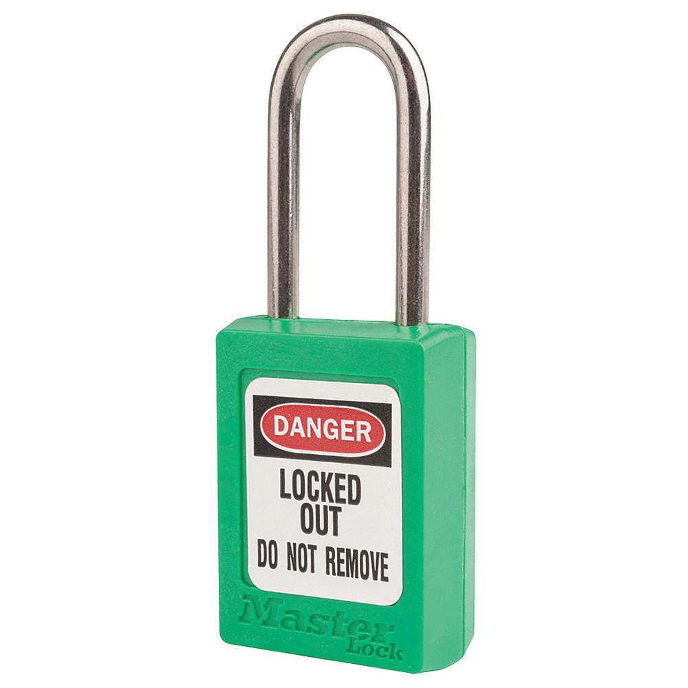 Master Lock S31KAS12GRN Lockout Padlock, KA, Green, 3/16In., PK12 at Sears.com