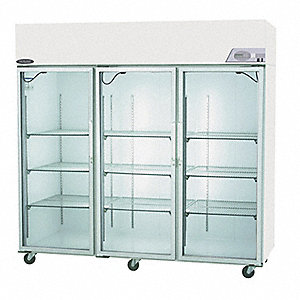 Refrigerator,Pass-Thru,85 CF,Glass Door