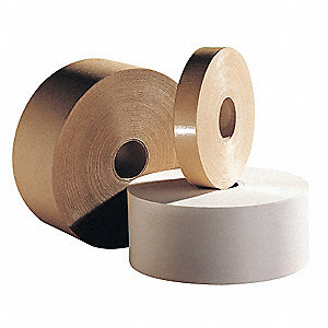 Carton Tape,Paper,Natural,4Inx600Ft,PK6