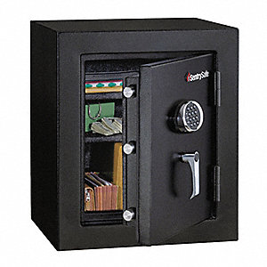 Executive Fire Safe,3 cu ft,Black