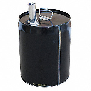 Steel Pail,5 gal,Closed-Head,Pour Spout