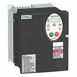 Variable Frequency Drive,4 Max. HP,3 Input Phase AC,240VAC Input Voltage
