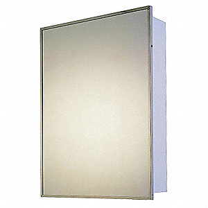 Medicine Cabinet,Surface Mount,16x26 in.