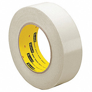 "Clear Polyethylene Squeak Reduction Tape, 12"" Width, 36 yd. Length, 7 mil Thickness"