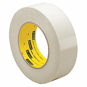 "Clear Polyethylene UHMW Film Tape, 12"" Width, 36 yd. Length, 6.7 mil Thickness"