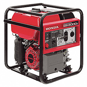Portable Generator, 120 Voltage, 2600 Rated Watts, 3000 Surge Watts, 25/NA Amps @ 120/240V