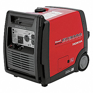 Portable Inverter Generator, 120 Voltage, 2600 Rated Watts, 3000 Surge Watts, 25/NA Amps @ 120/240V