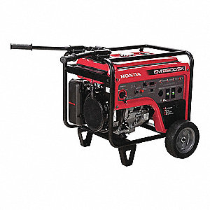Portable Generator, 120/240 Voltage, 5500 Rated Watts, 7000 Surge Watts, 54.2/27.1 Amps @ 120/240V