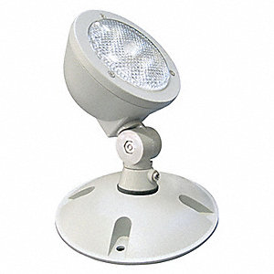 LED Wet Location Remote Head, 1.5 Lamp Watts, Cast Aluminum Housing Material