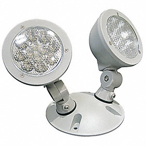 LED Wet Location Remote Head, 3 Lamp Watts, Cast Aluminum Housing Material