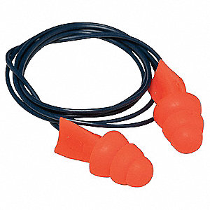 Ear Plugs,27dB,Corded,Met Det,Univ,PR