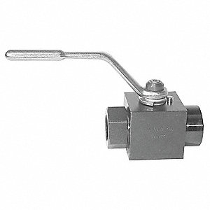 Hydraulic Valve,Ball,1/4In NPT
