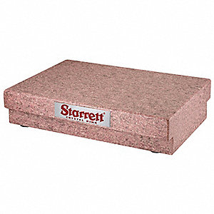 Granite Surface Plate,Pink,AA,12x18x4