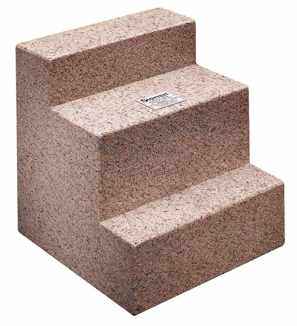 Granite Blocks Instrument : Starrett granite angle plate pink face a x pdg