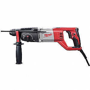 SDS Plus Rotary Hammer Kit,7A @ 120V
