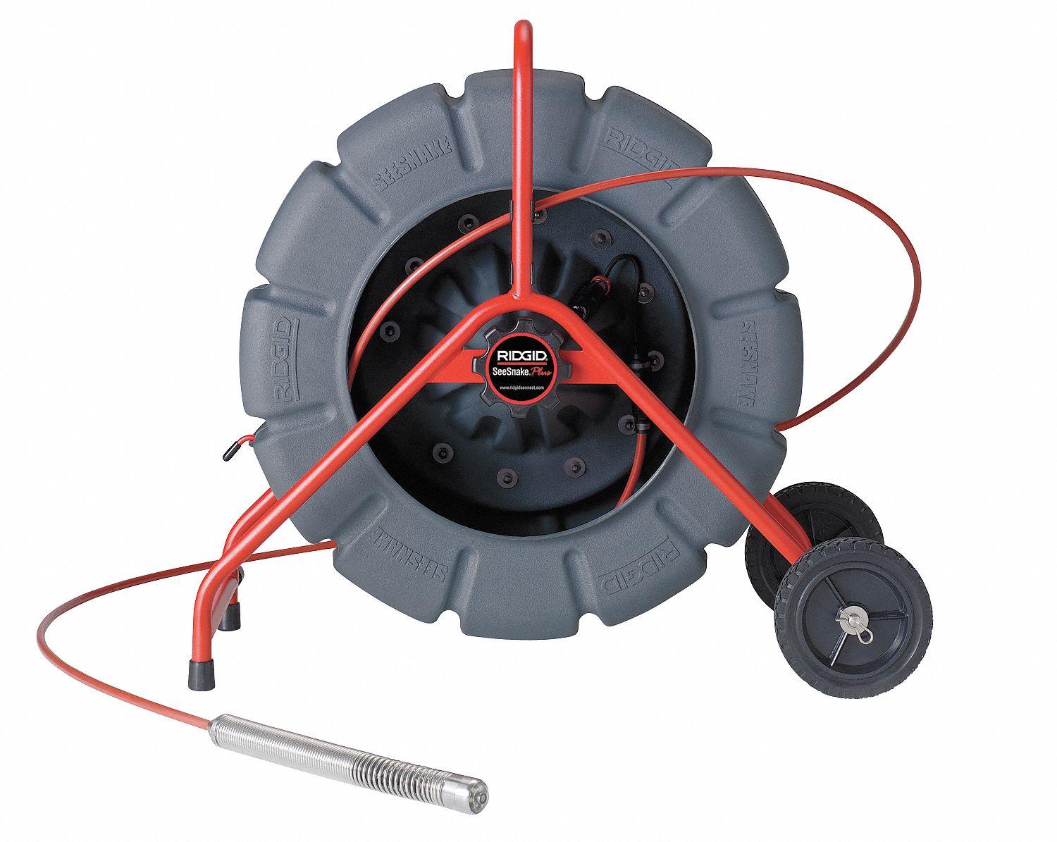 ridgid pipe inspection camera reel color 325 ft 6pfe0 13998 grainger. Black Bedroom Furniture Sets. Home Design Ideas