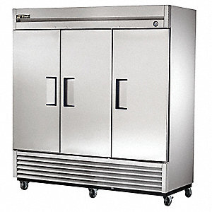 Refrigerator,72 cu ft,Stainless Steel