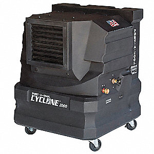 Portable Evaporative Cooler,1600/2000cfm