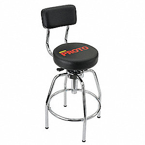 Shop Stool, Ht. 29 to 34 In.