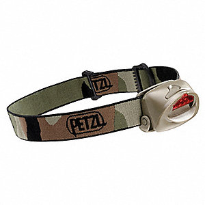 Headlamp,LED,35 Lm,Olive Camo