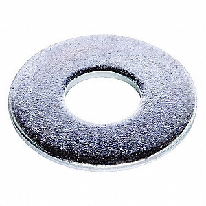 Flat Washer,Bolt 1-1/4,Stl,3 OD,PK25