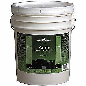 Exterior Paint,Flat,5 gal,Spanish Brown